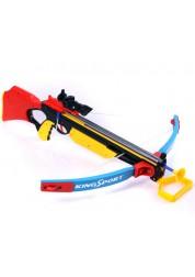 Арбалет с лазерным прицелом и мишенью 35881G Junfa Toys
