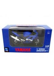 Мотоцикл металлический 1:18 Yamaha YZF-R6