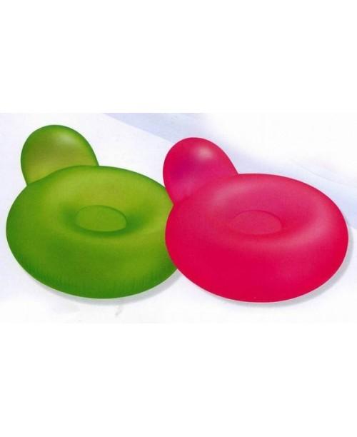 Кресло надувное Pillow-Back Lounges 137х122см Intex 58889