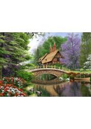 Пазл Castorland Дом у реки, 1000 деталей