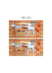 Автомат АК-47 электромеханческий (свет, звук)