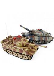 Танковый бой на радиоуправлении (2 танка 1:64) Abtoys C-00037(529)