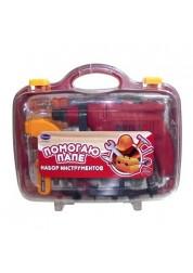Набор инструментов, 20 предметов, в чемодане Rinzo