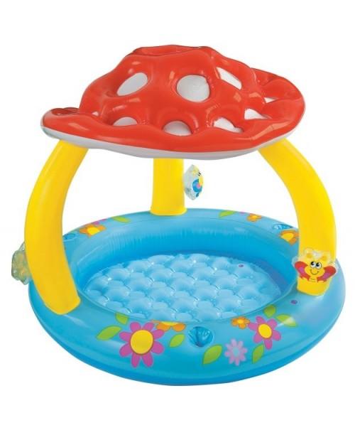 Бассейн надувной Mushroom Baby Pool 102х89см Intex 57407