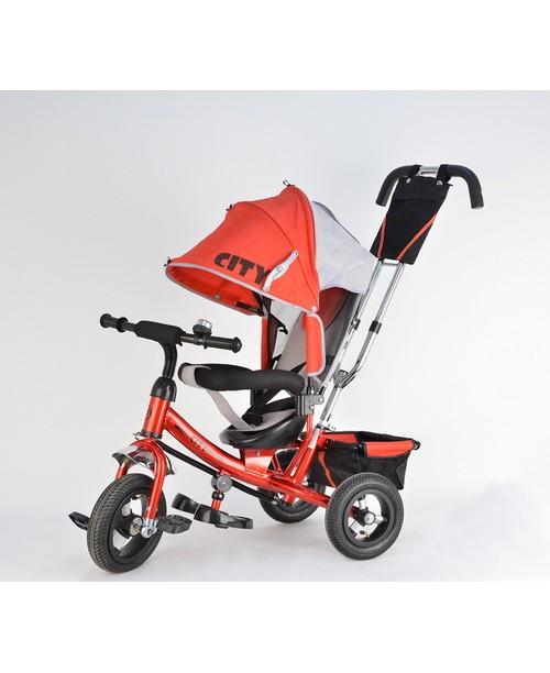 Детский трехколесный велосипед CITY JC7R/Red