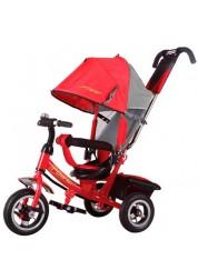 "Велосипед трехколесный Power, (10""/8""), красно/серый Trike JP7R"