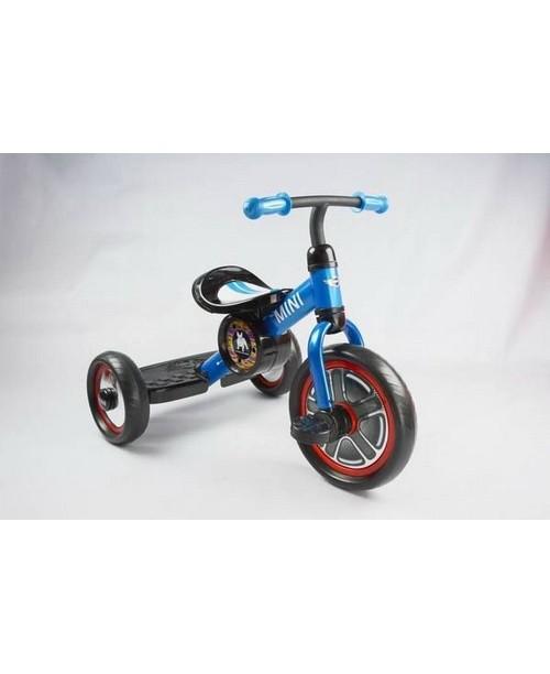 Велосипед детский Mini Cooper трехколесный синий