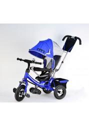 Детский трехколесный велосипед CITY JC7B/Blue